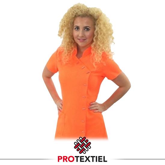 Tuniek Esmee neon oranje